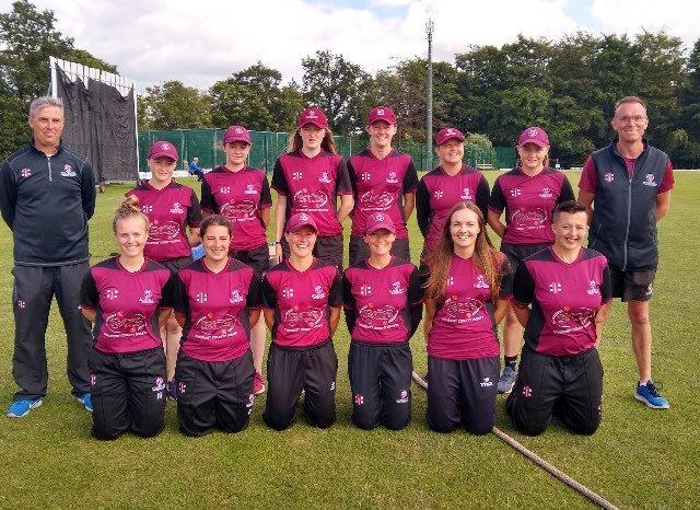 SUCCESS: Somerset Women, the T20 Division 2 winners for 2019. Pic: twitter.com/SCBwomengirls