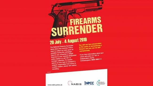 AMNESTY: Firearms can be handed in at Bridgwater Police Station until Sunday, August 4