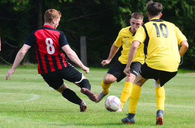 HOME VICTORY: Burnham United Reserves picked up a fine win