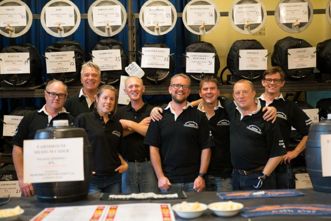 CHEERS!: Organisers of the Wedmore Real Ale Festival have been busy preparing for this year's event