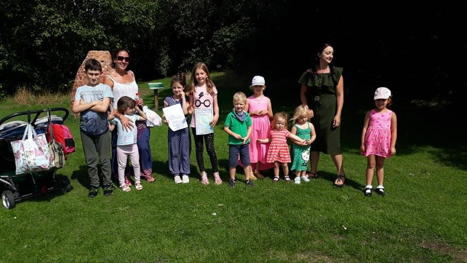 More than 200 people attend Apex Park Treasure Hunt