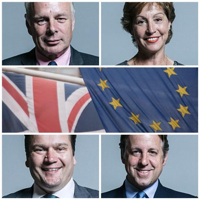 VOTES: For Somerset MPs Ian Liddell-Grainger, Rebecca Pow, Marcus Fysh and James Heappey