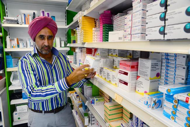 ON THE FRONT LINES: Max Punni, a pharmacist who works across the county