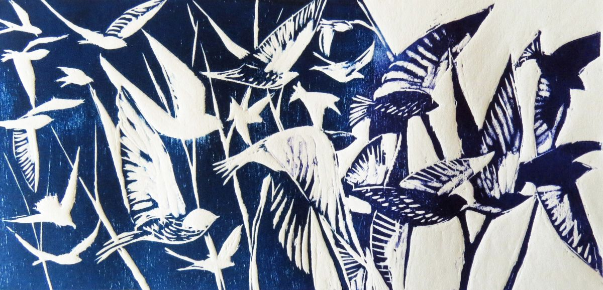 Drop in family printmaking with Jackie Curtis