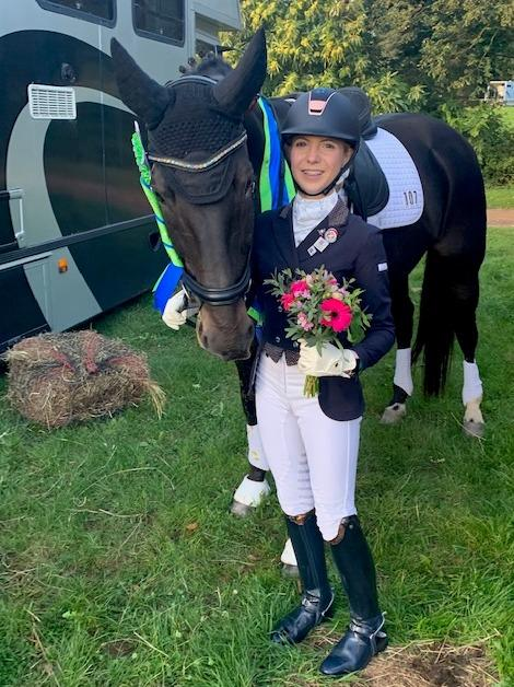 WINNER: Florence Human at the championships on Wednesday, October 2