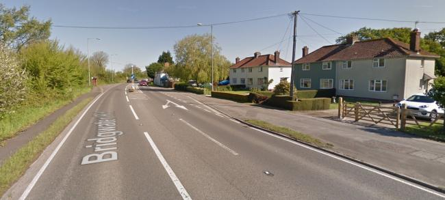 ROAD SAFETY FEARS: The A370 in Lympsham