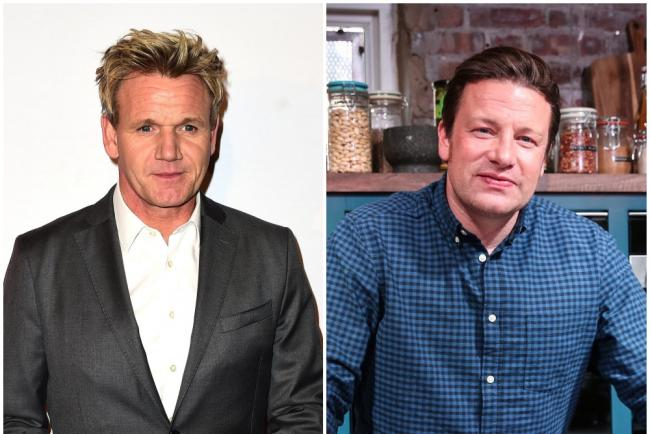 Gordon Ramsay and Jamie Oliver