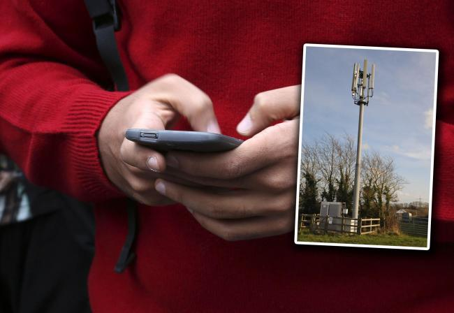 COVERAGE: The plan aims to improve mobile phone signal in rural areas. MAIN PICTURE: Philip Toscano/PA Wire