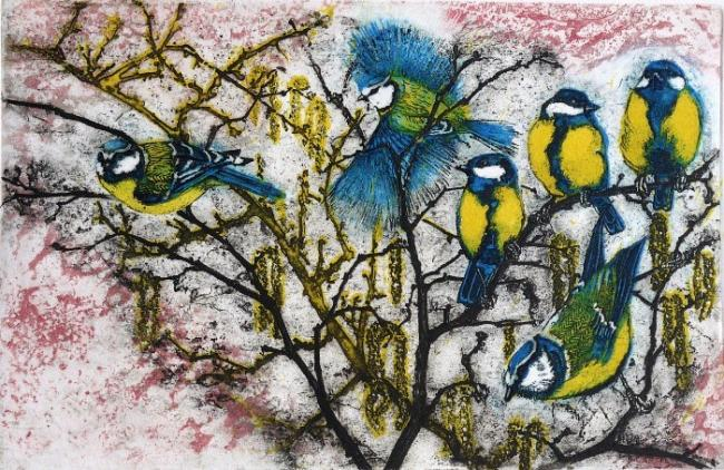 ARTISTRY: Julia Manning has put 50 limited edition artworks up for auction to help wildlife