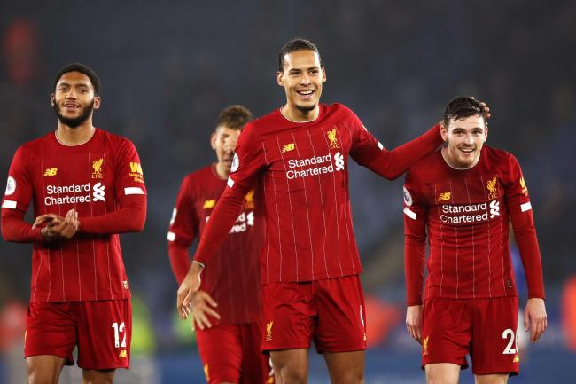 Liverpool's defence has kept seven clean sheets in a row