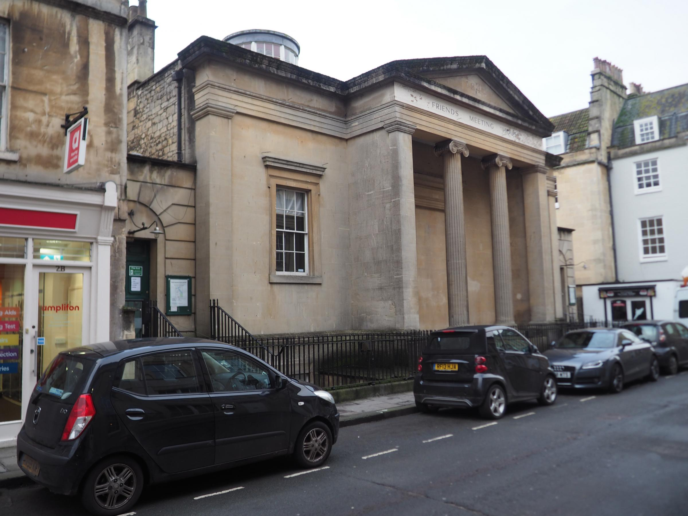 ON THE MARKET: The Friends Meeting House, in Bath