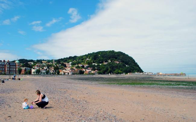 SUNNY TIMES: Beaches like Minehead are sure to be busy