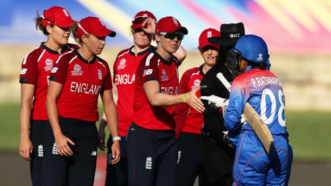 Heather Knight scored a century against Thailand (Credit: © ICC Business Corporation FZ LLC 2020. All rights reserved)