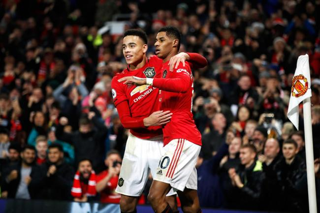 Marcus Rashford and Mason Greenwood have come through the academy into the first team
