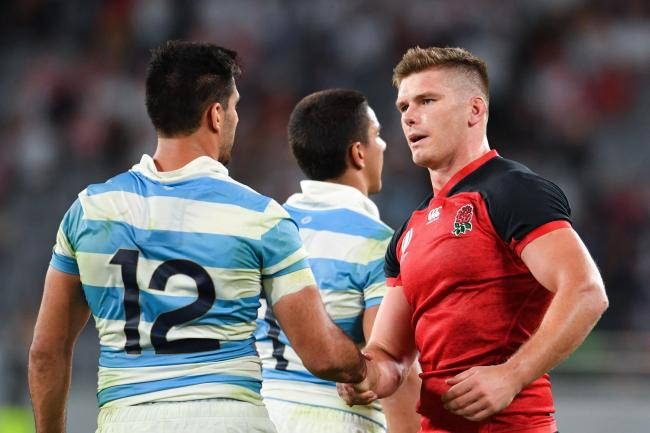 England's autumn clash with Argentina will start at 8pm