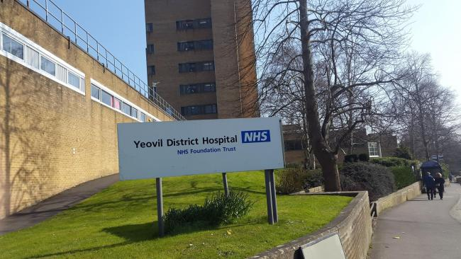 Yeovil District Hospital.