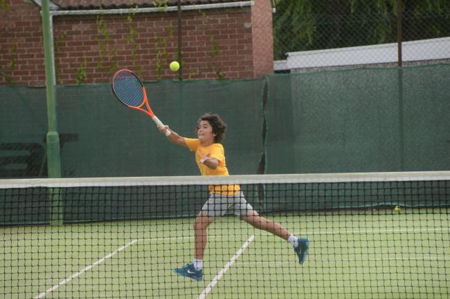 RETURN: Action from Avenue Tennis Club in Burnham-on-Sea