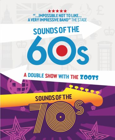 The Zoots Sounds of the 60s & 70s show, Seaton Gateway, Devon Sat 27 March