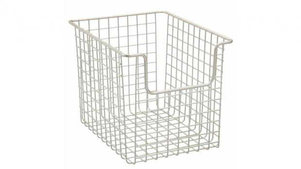 Burnham and Highbridge Weekly News: Baskets can help organise all your bathroom essentials. Credit: Amazon