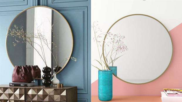 Burnham and Highbridge Weekly News: A bigger, more modern mirror will create the illusion of more space. Credit: Wayfair