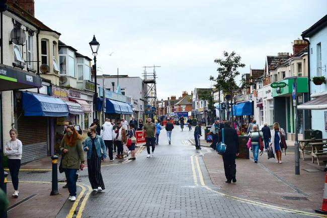 CHANGES: The layout of the temporary pedestrianisation of Burnham High Street has been changed