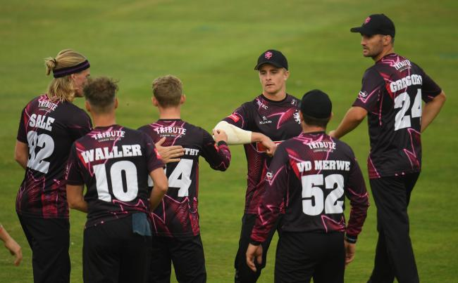 VICTORY: Somerset put in a dominant team performance against Northants (pic: SCCC)