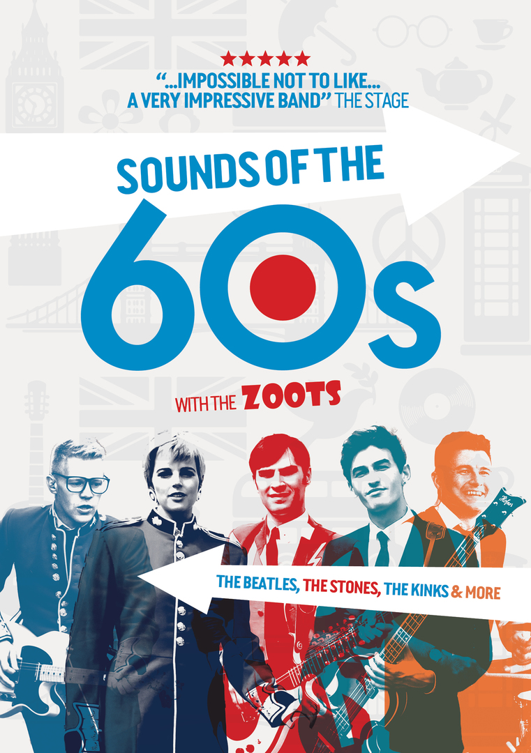 The Zoots Sounds of the 60s show, Tivoli Theatre Thurs 8th July 2021