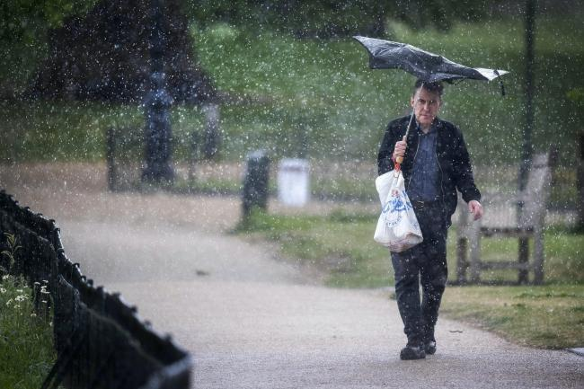 Rain and wind on the way - but it is a bank holiday weekend