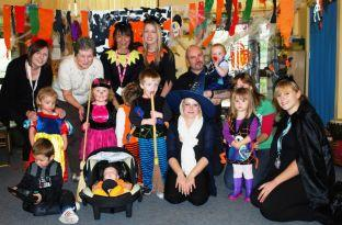 Halloween in Burnham and Highbridge