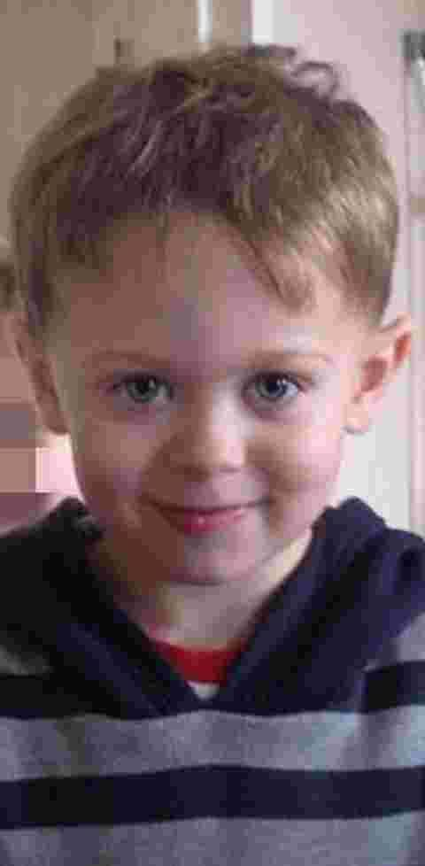 Four-year-old Dylan Cecil
