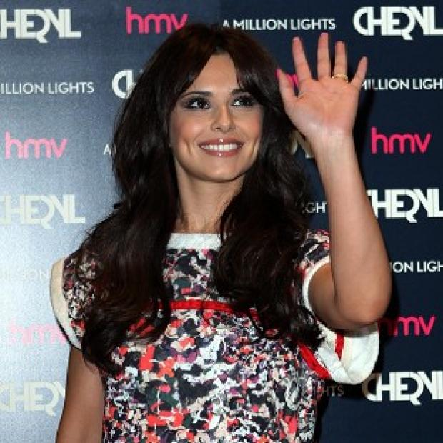Cheryl Cole said she is 'fine' following the accident