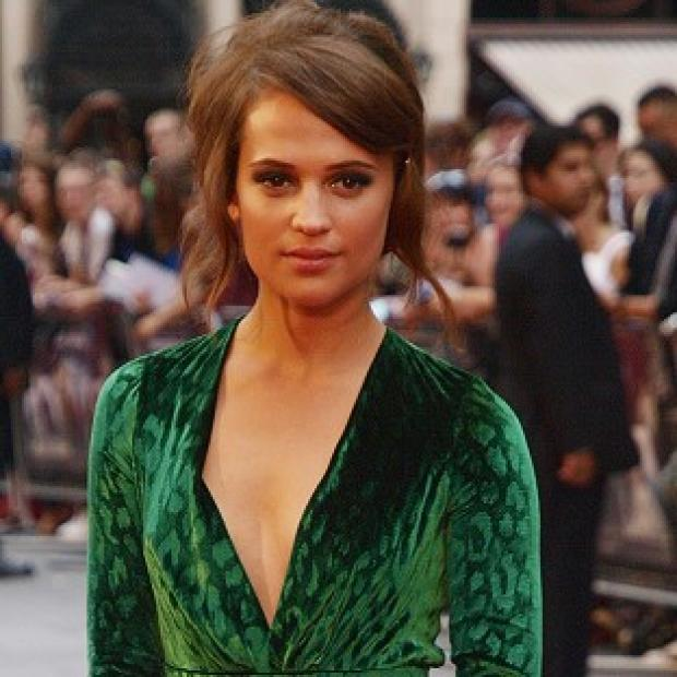 Alicia Vikander stars alongside Ben Barnes in The Seventh Son