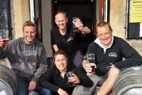 Wedmore Real Ale Festival with Chris Perry, Dave Stone, Amanda Caver and Trevor Prideaux.