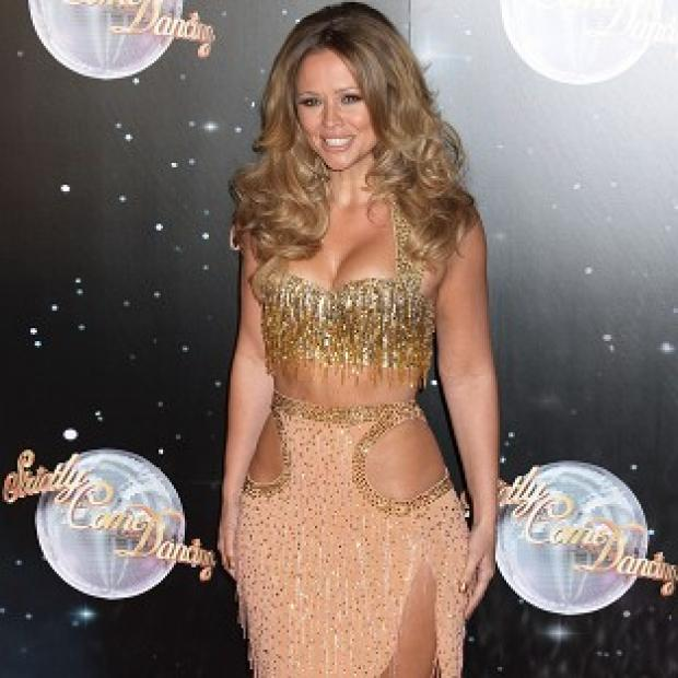 Kimberley Walsh is competing to win the mirrorball at this year's Strictly Come Dancing