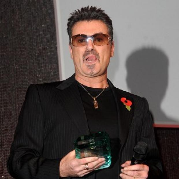 Chart star George Michael has performed for a Scottish audience in the first of two shows