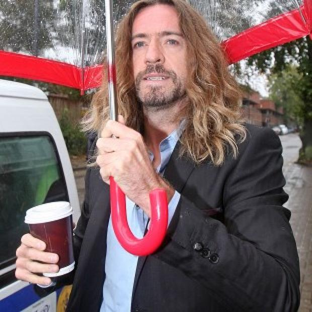 Justin Lee Collins denies harassing his ex