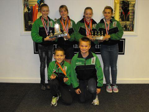 Burnham swimming club make a splash at Open Meet