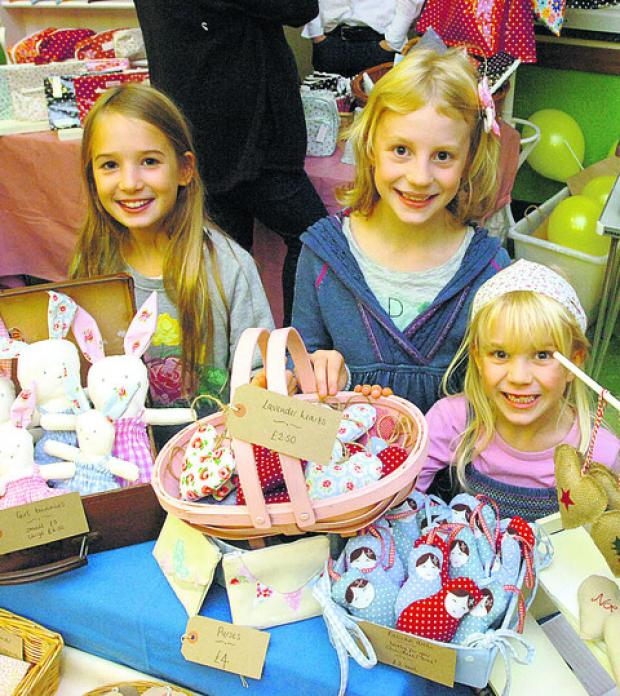 Craft fair at Highbridge Community Hall