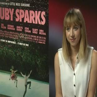 Zoe Kazan stars with boyfriend Paul Dano in her film Ruby Sparks