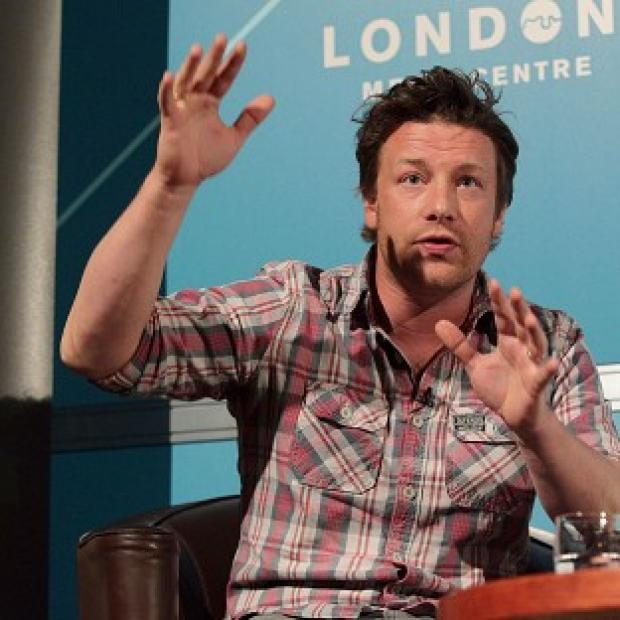 Jamie Oliver is fed up of diners stealing from his restaurant