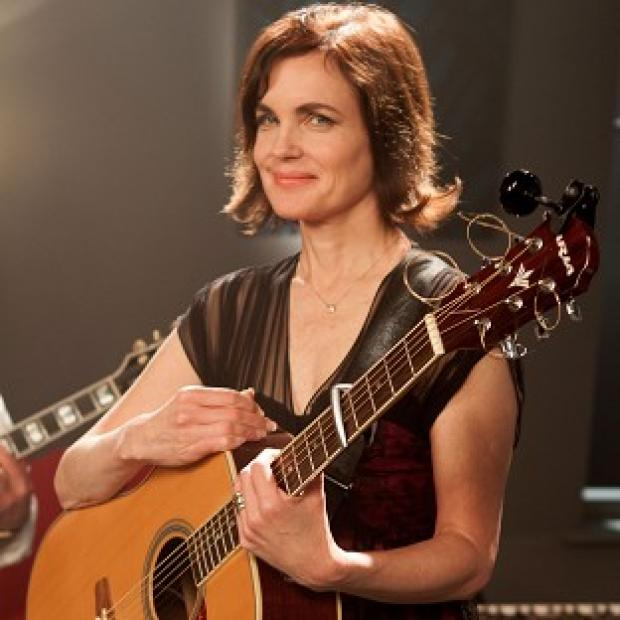 Elizabeth McGovern embraces the terror of performing live with her band