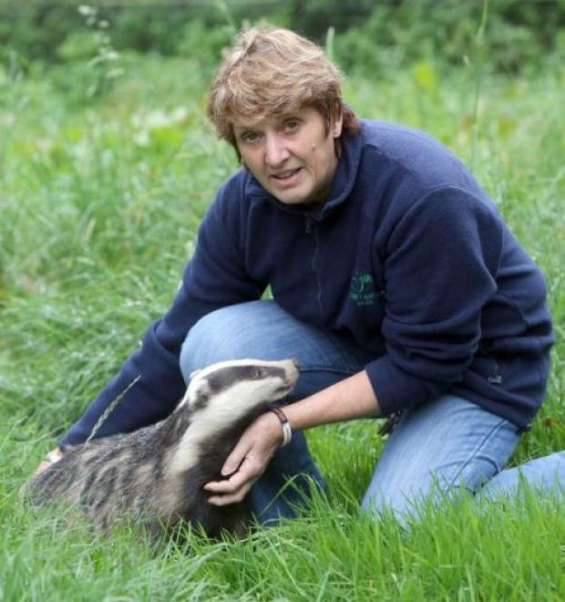 Secret World founder Pauline Kidner, also a spokesperson for the Badger Protection League (BPL)