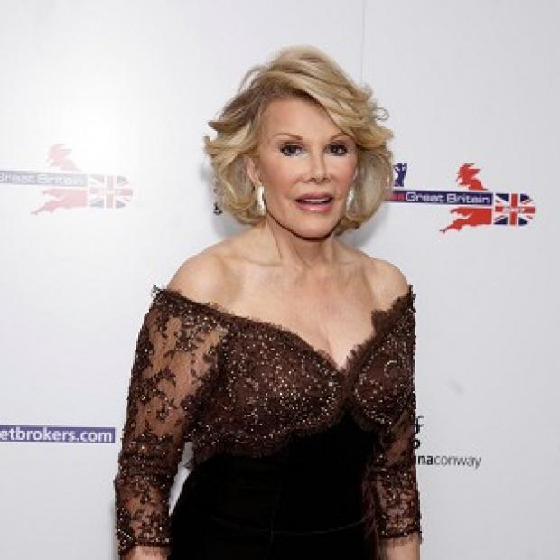 Joan Rivers joked that she could get beheaded in London