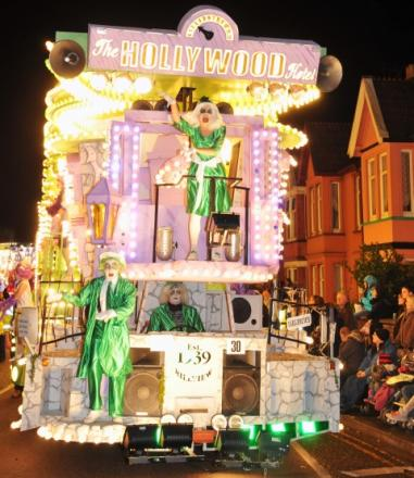 Burnham's own Hill View CC at 2012's carnival