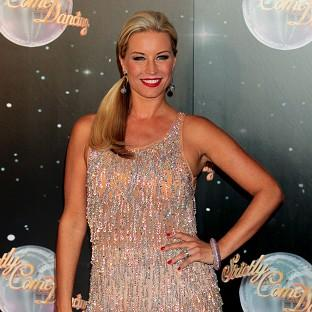 Denise Van Outen scored 39 out of 40 for her latest dance