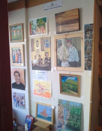 Prisoner paintings sold to support crime victims