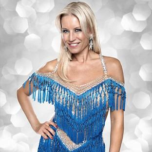 Denise Van Outen would like to carry on dancing when Strictly is over