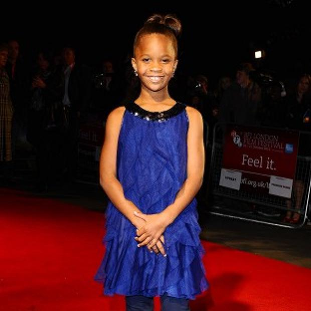 Quvenzhane Wallis has been tipped for an Oscar nomination for Beasts Of The Southern Wild