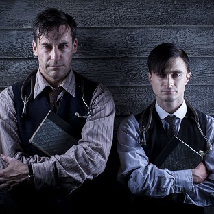 Daniel Radcliffe and Jon Hamm star in A Young Doctor's Notebook