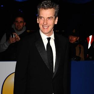 Peter Capaldi was named Best TV Comedy Actor at the British Comedy Awards